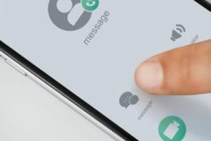 2. Melalui SMS