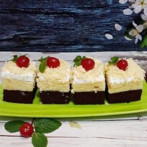 Brownies Cokelat Keju Kukus