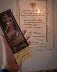 Harga Tiket Masuk Museum Ullen Sentalu
