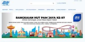 Website PAM JAYA