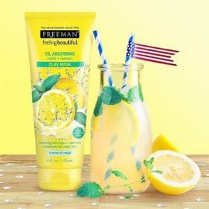 Clay Mask Oil Absorbing Mint+Lemon