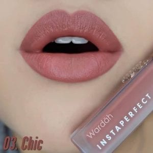 Instaperfect Mattesetter Lip Matte Paint shade Chic