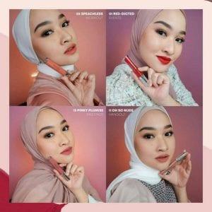 Varian Warna Wardah Exclusive Matte Lip Cream yang Jadi Andalan