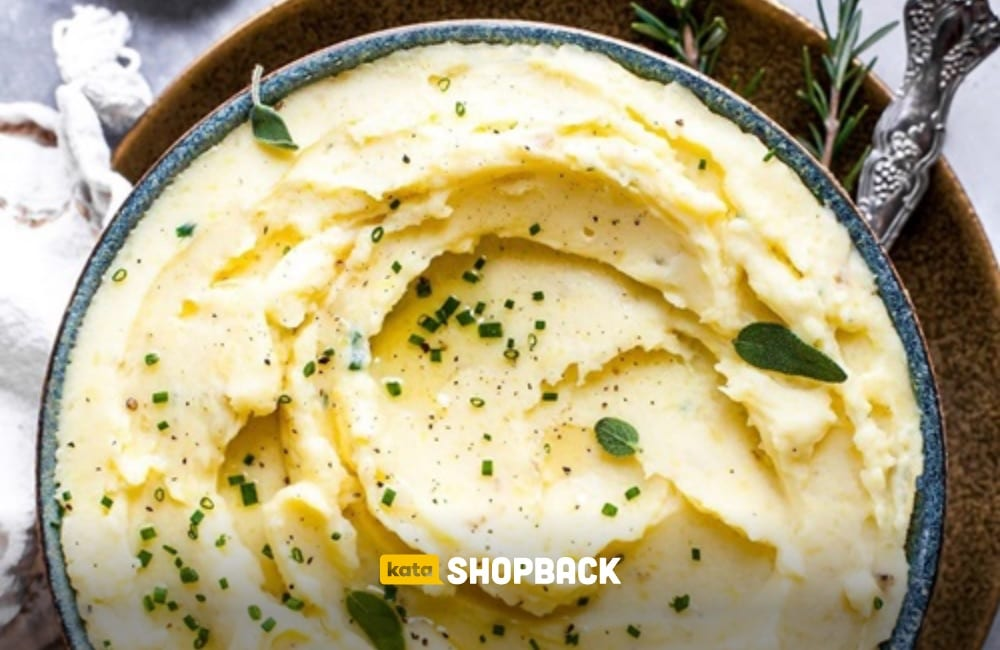 resep mashed potato