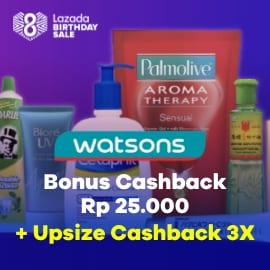 Promo Watsons di ShopBack