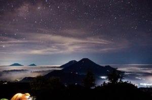 Milky Way di Gunung Prau