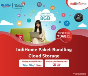 Indihome Paket Bundling untuk Cloud Storage
