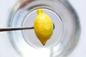 Campuran Minyak Wijen, Minyak Esensial Rosemary, dan Lemon