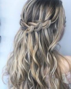 Kepang Rambut Waterfall