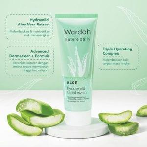Rangkaian Wardah Aloe Vera Dari Facial Wash Hingga Sheet Mask