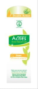 Acnes Natural Care Oil Control & Whitening Cream