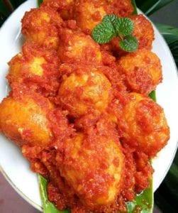 Telur Balado Padang