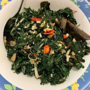 resep sayur daun singkong tumis