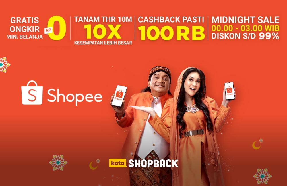 Promo Puncak Shopee Big Ramadhan Sale: Cashback Hingga 100 Ribu!