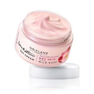 Oriflame Love Nature Day dan Night Cream Wild Rose