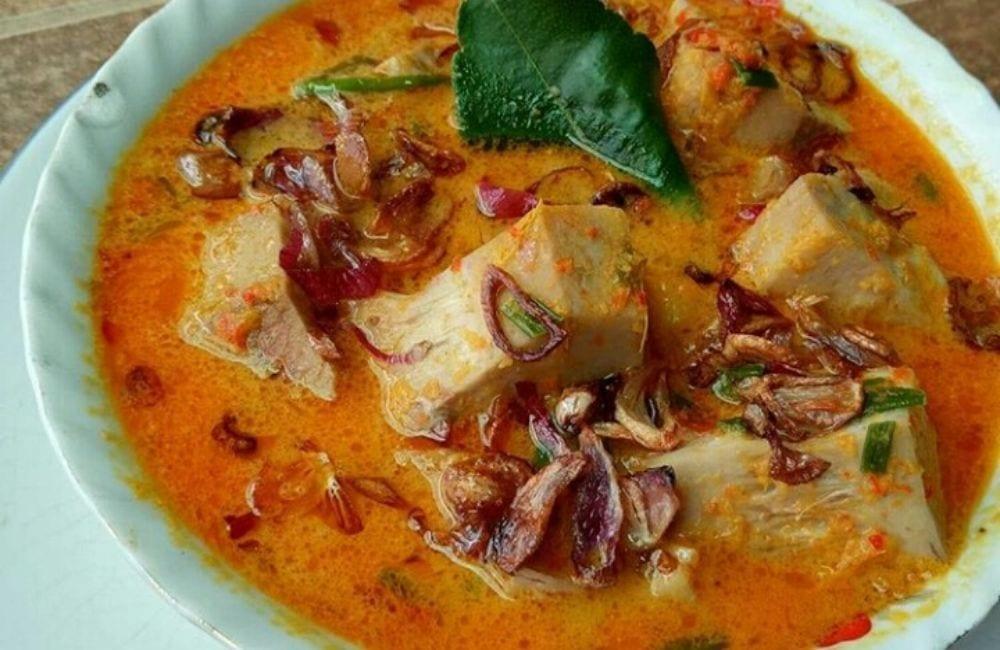 resep sayur nangka santan