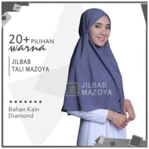 Jilbab Instan Tali Mazoya Non Pet