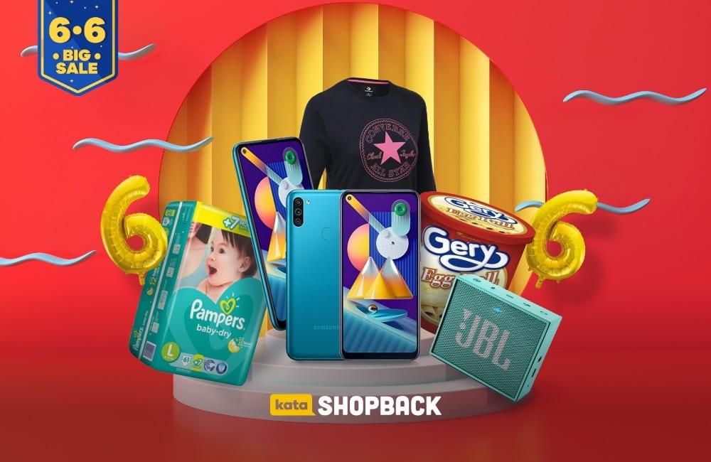 Promo 6.6 ShopBack, Ada Cashback Gede-gedean Selama Seharian!