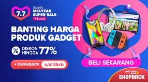 Promo Lazada Mid Year Super Sale Banting Harga Habis Habisan