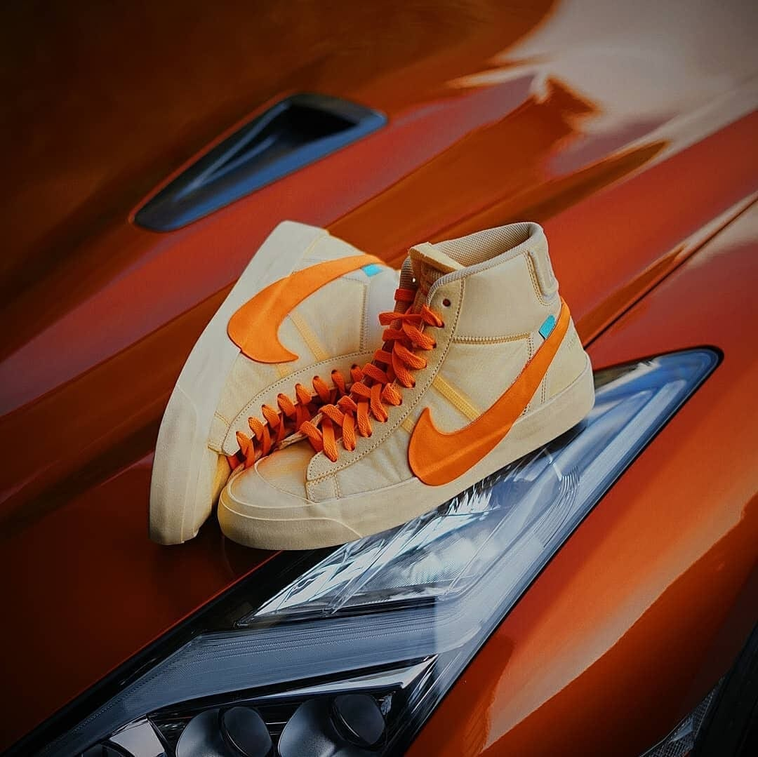 Nike Blazer Mid x Off White All Hallow's Eve