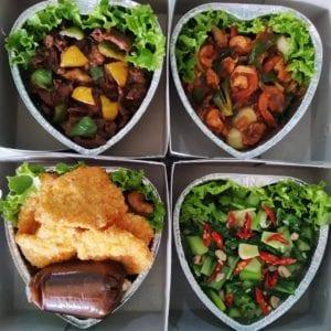 catering kantor - perhatikan pilihan menu