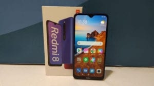 smartphone fast charging Redmi 8