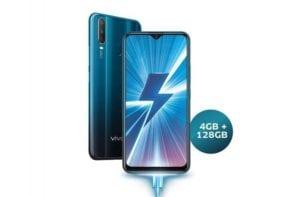 smartphone fast charging Vivo Y17