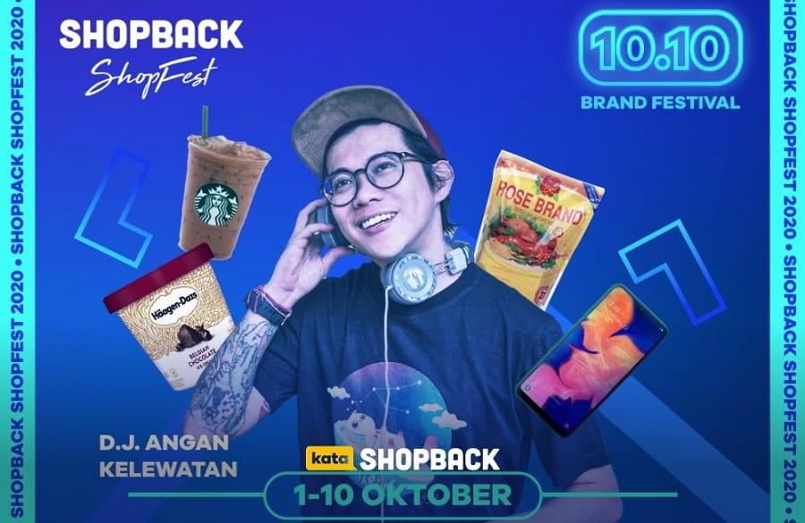 10.10 ShopBack ShopFest promoo