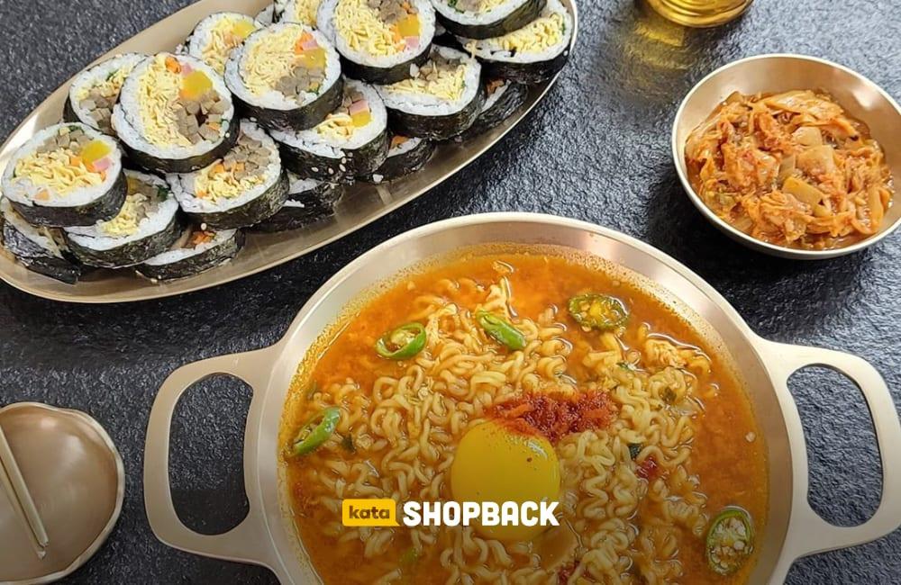 beberapa makanan korea
