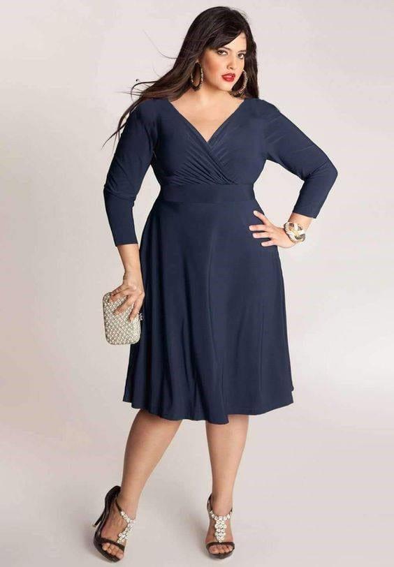 tips fashion wanita gemuk