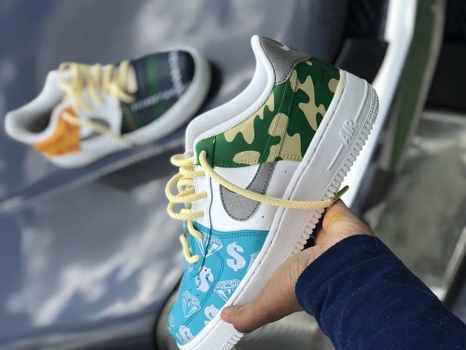 memilih sepatu