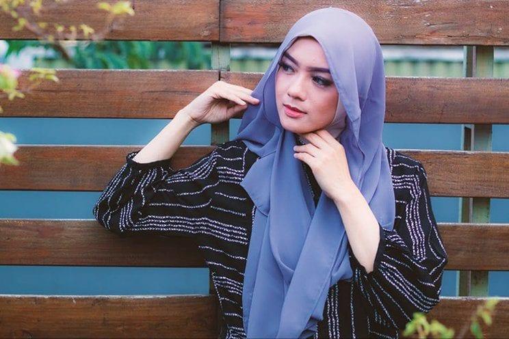 cara memakai hijab rapi