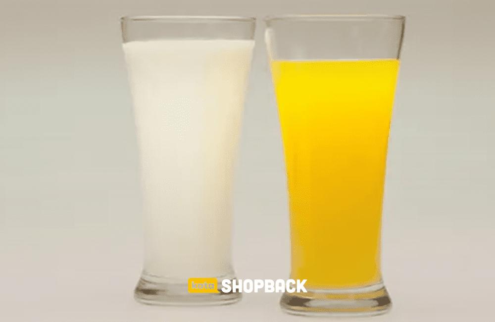 susu dan vitamin C menyembuhkan covid-19
