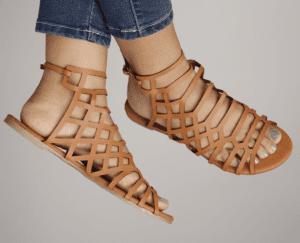 model sandal wanita