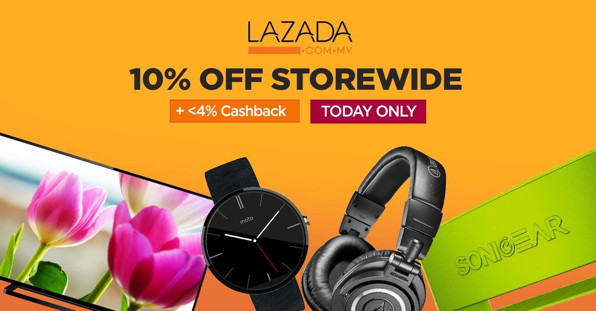 Storewide Madness TODAY on Lazada Malaysia!