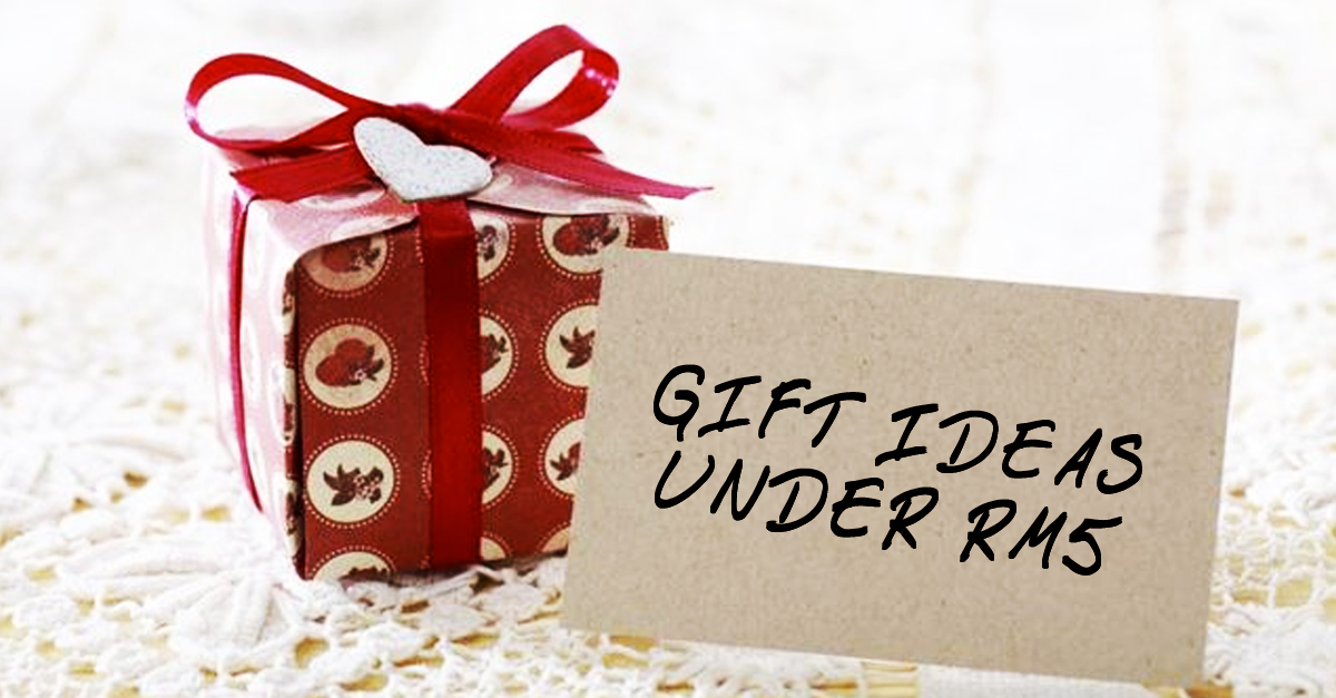 5 genius gift ideas for only rm 5