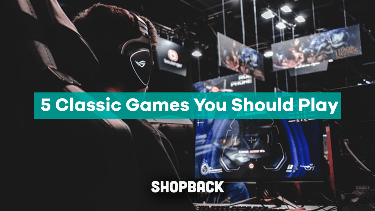 5 Classic Video Games You Should Play
