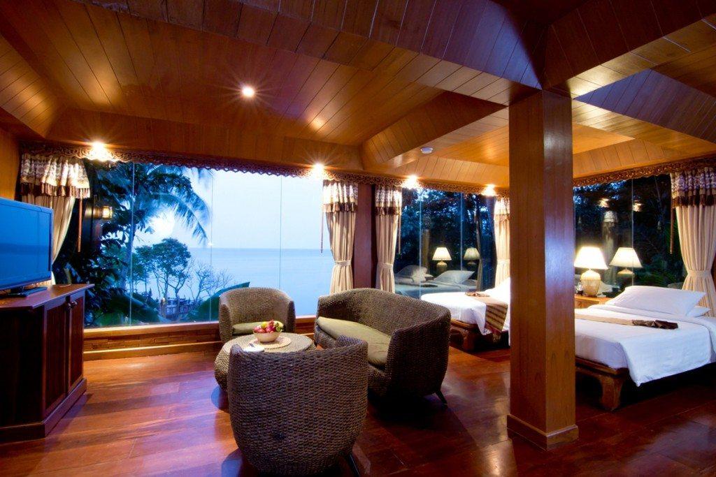 Ko Phangan interior