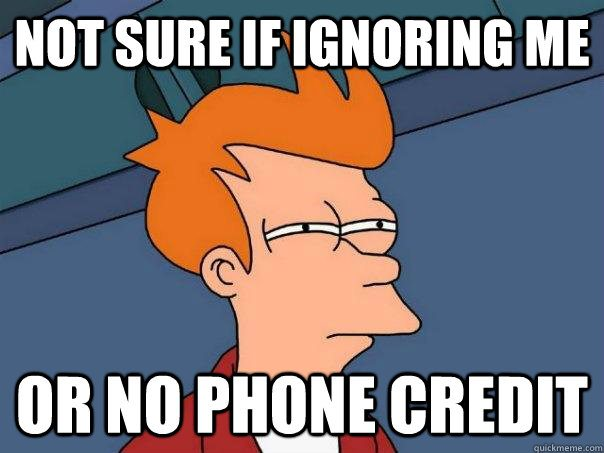 Phone Out Of Credit? Here's A Top-Up Hack To Save You!