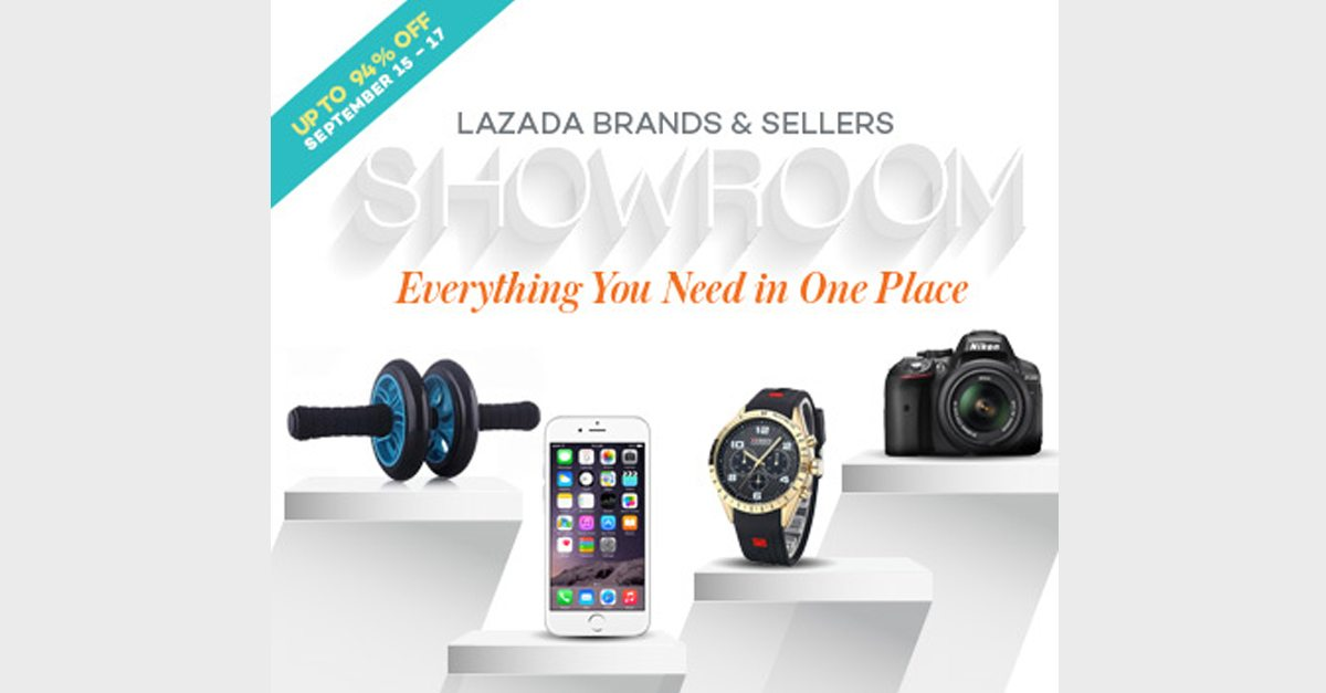 10 Of The Coolest Deals From Lazada's Brands & Sellers Showroom