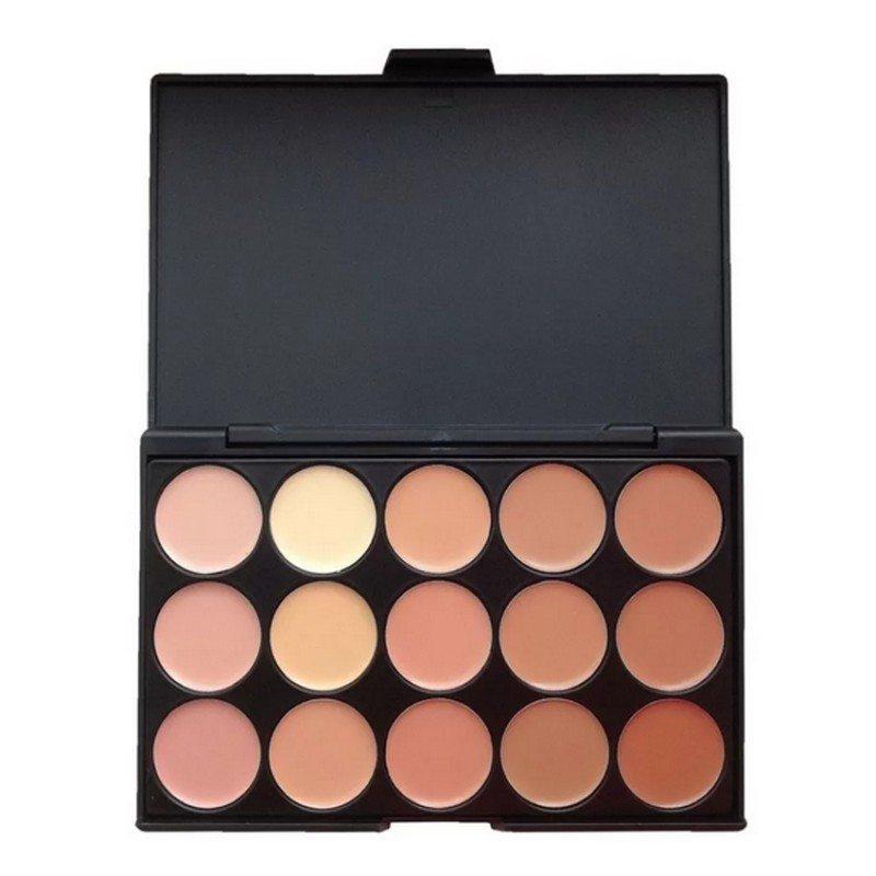 15 Colour Concealer Camouflage Makeup Palette