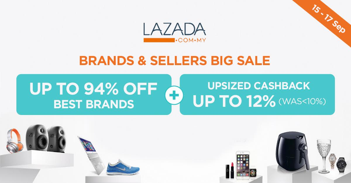 10 Products Going At 70% Off Or More Courtesy of Lazada's Brands & Sellers Showroom