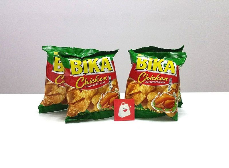 Bika Chicken Flavoured Snack