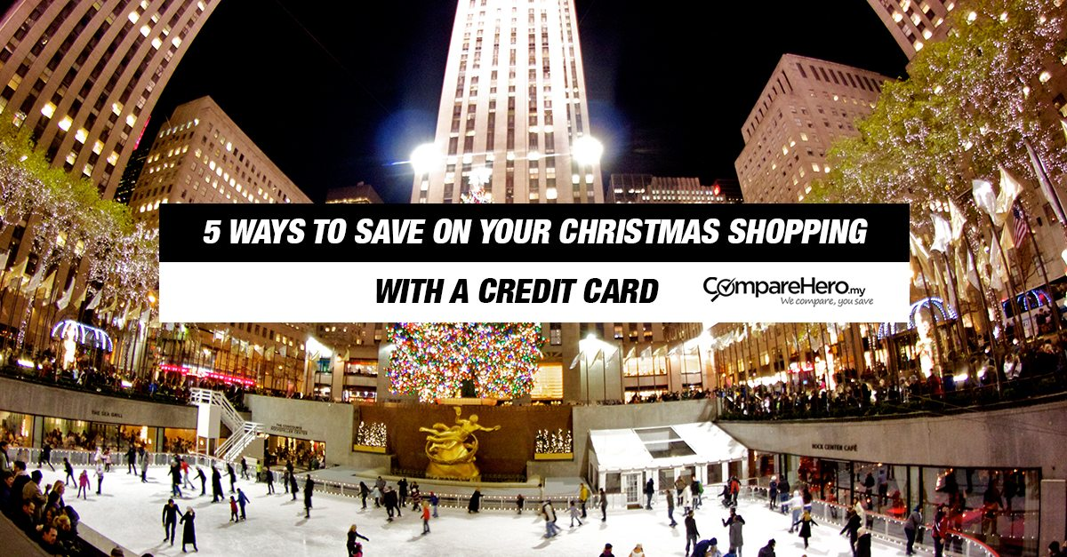 5 Ways To Save On Christmas Shopping With Your Credit Card