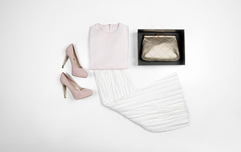 Charles and Keith flatlay for the feminine girl