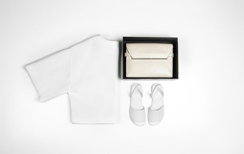 Charles and Keith flatlay for the minimalist girl