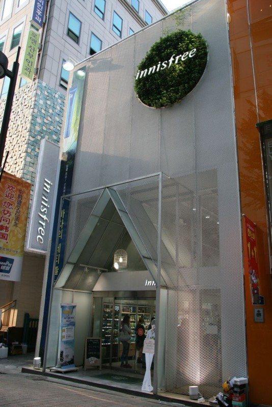Innisfree Makeup Store in Korea