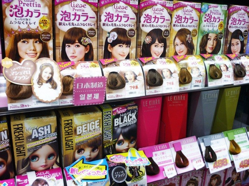 Liese Bubble Coloured Hair Dye
