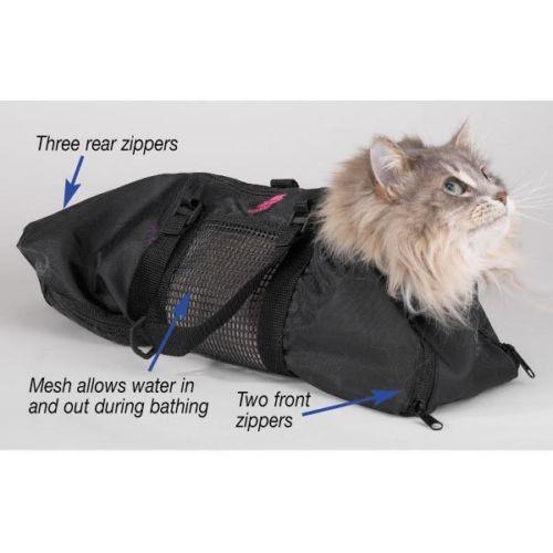 Cat Groomers Bathing & Bag