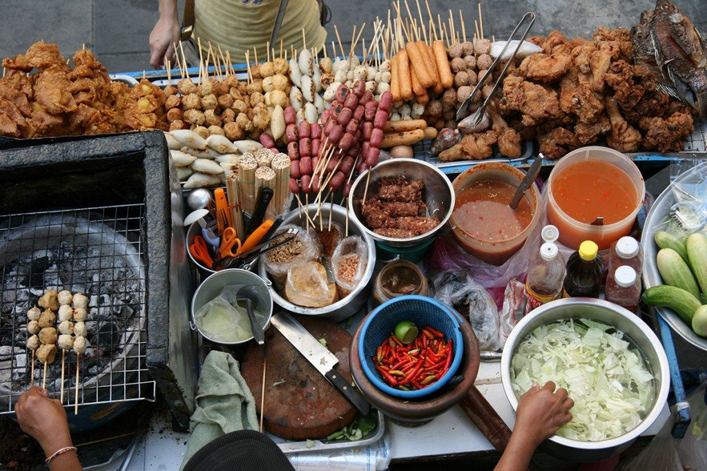 Street food in Asia